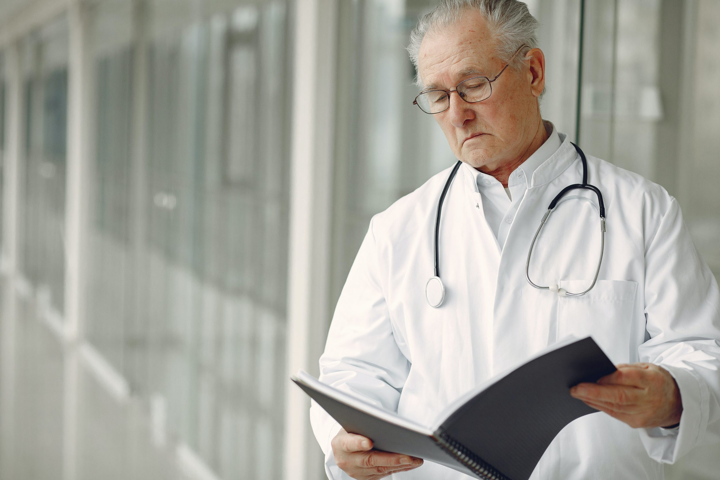 Medicare Part B covers your doctor visits.